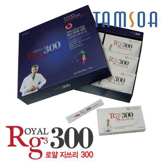 Hồng Sâm Kháng Ung Thư RG3 (Royal G3 300)