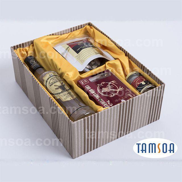 hộp quà biếu tặng ý nghĩa nhung hươu tamsoa