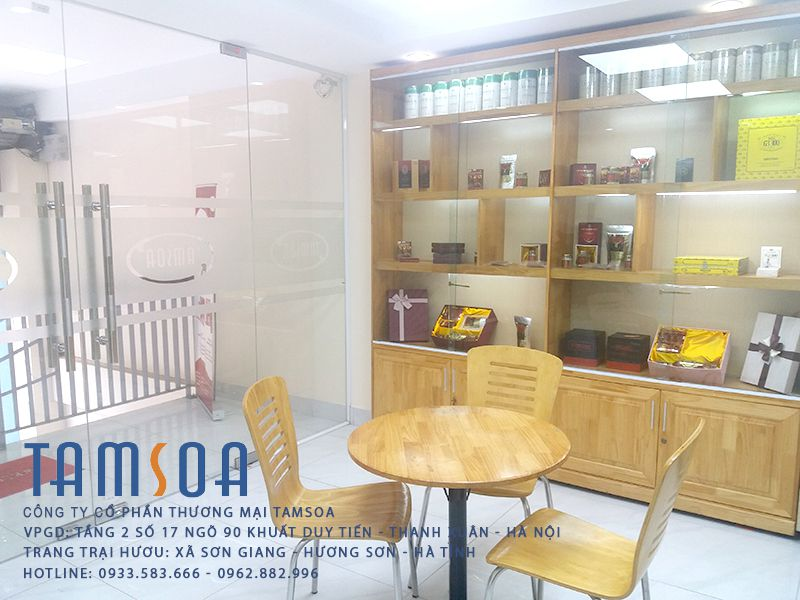 showroom công ty tamsoa