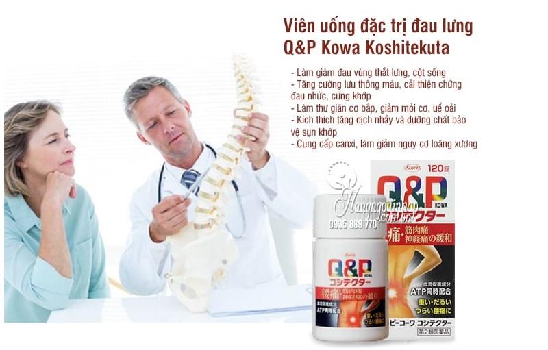thuốc trị đau lưng mỏi gối của Nhật