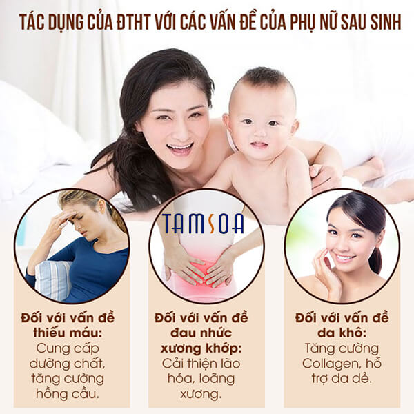 Tác dụng của đông trùng hạ thảo với phụ nữ